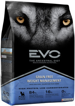 EVO Weight Management Adult Dog Food 6.6 lb. Bag