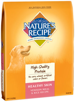 Nature's Recipe® Healthy Skin Venison Meal & Rice Recipe Dog Food 15 lb. Bag