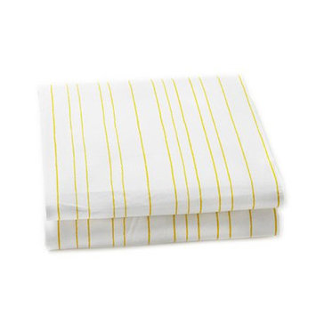 Auggie Rabbit Patch Stripe Crib Sheet