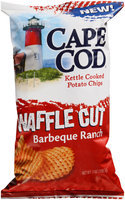 Cape Cod® Waffle Cut Barbeque Ranch Kettle Cooked Potato Chips 7 oz. Bag
