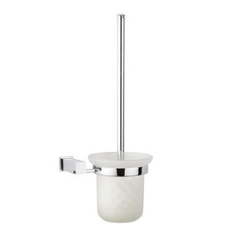 Dawn 9311 Toilet Brush and Holder in Satin Nickel