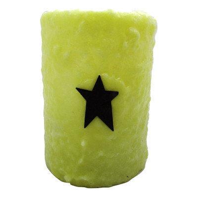 Starhollowcandleco Star Pillar Candle Size: 6