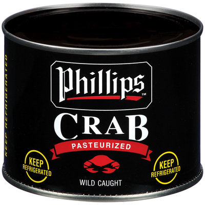 Phillips Colossal Pasteurized Crab Meat 16 Oz Can