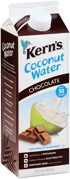 Kern's® Chocolate Coconut Water 32 fl. oz. Carton