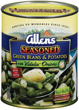 The Allens Seasoned W/Vidalia Onions Green Beans & Potatoes 27 Oz Can