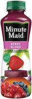 Minute Maid Berry Blend Juice Beverage 15.2 fl. oz. Plastic Bottle