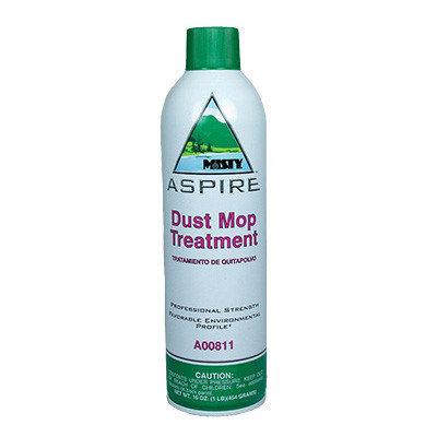 Misty Aspire Dust Mop Treatment Lemon Scent Aerosol Can