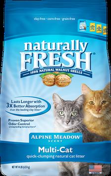 Naturally Fresh Alpine Meadow Scent Multi-Cat Litter, 26 lbs.