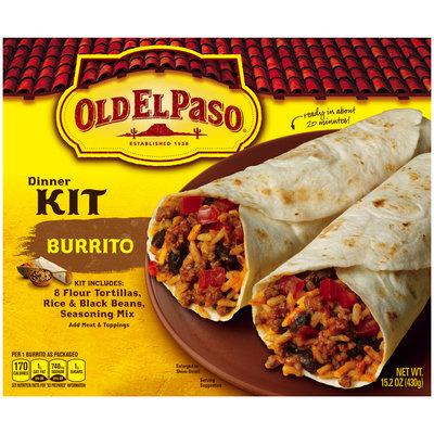 Old El Paso® Burrito Dinner Kit 15.2 oz. Box