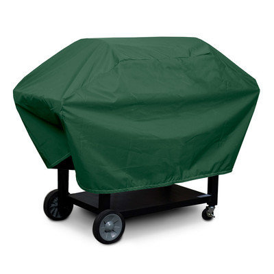 KoverRoos 63064 Weathermax X-Large Barbecue Cover No. 2 Forest Green - 23 D x 66 W x 40 H in.