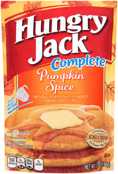 Hungry Jack® Complete Pumpkin Spice Pancake & Waffle Mix 7 oz. Pouch