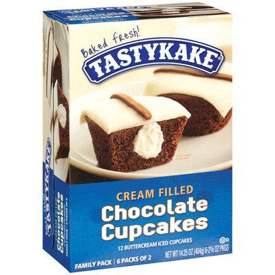 Tastykake® Cream Filled Chocolate Cupcakes
