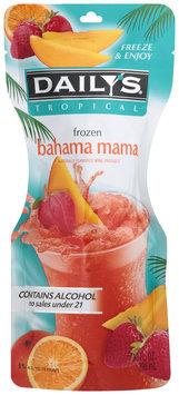 Daily's® Tropical Frozen Bahama Mama 10 fl. oz. Pouch