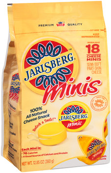 Jarlsberg® Minis Semi-Soft Part-Skim Cheese Snacks