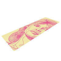 Kess Inhouse Bardot by Roberlan Yoga Mat