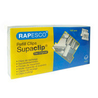 Rapesco Supaclip® 60 Stainless Steel Refill Clips
