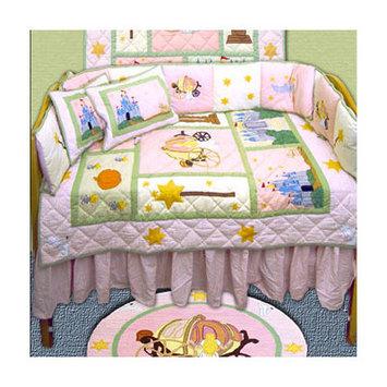 Patch Magic Fairy Tale Princess 9 Piece Crib Bedding Set