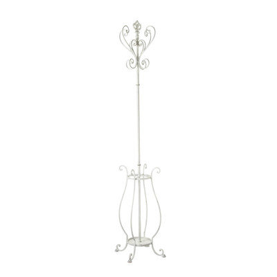 Cbk 292884 Fleur De Lis Coat Rack With Umbrella Stand