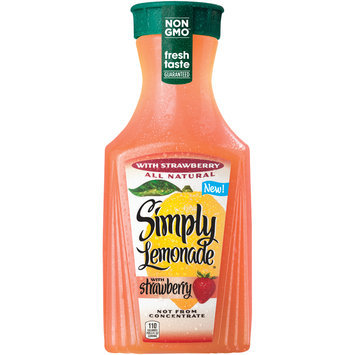 Simply Lemonade® with Strawberry Bottle