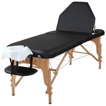 Sierra Comfort Adjustable Back Rest Portable Massage Table