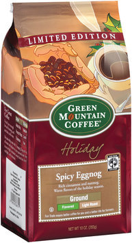 Green Mountain Coffee Roasters Ground Spicy Eggnog Light Roast Coffee