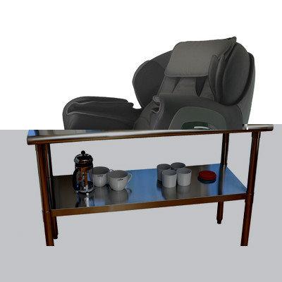 Titan - Massage Chair TP-Pro 8400 Brown