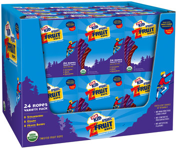 CLIF Kid® ZFruit Twisted Fruit Ropes Variety Pack 24 ct Box