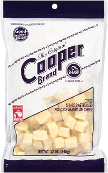 Cooper® Cubed Sharp Pasteurized Process American Cheese