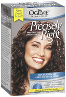 Ogilvie Salon Styles Professional Conditioning Perm For Normal Or Hard-to-Wave Hair Precisely Right 1 Ct Box