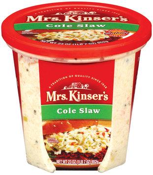 Mrs. Kinser's  Cole Slaw 24 Oz Tub