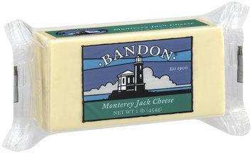 Bandon Monterey Jack Cheese 1 Lb Chunk