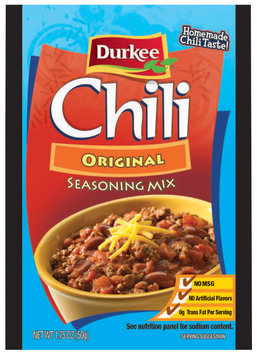 Durkee Chili Original Seasoning Mix 1.75 Oz Packet
