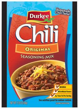 Durkee Chili Original Seasoning Mix 1.75 Oz Packet