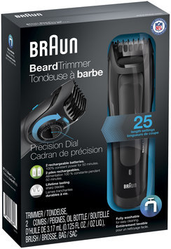 Braun Beard Trimmer BT5050 – Ultimate precision for the perfect beard style with 0.5mm step sizes