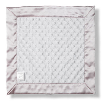 Swaddle Designs Baby Lovie in Pastel Plush Dot with Pastel Trim Color: Pastel Pink