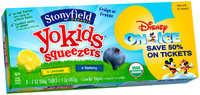 Stonyfield Organic™ Yokids® Squeezers® Variety Pack Lowfat Yogurt 8-2 oz. Tubes