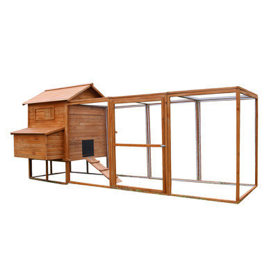 Newacme Llc Chicken Poultry Rabbit Pet Coop Hen House Hutch Cage