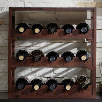 August Grove 15 Bottle Tabletop Wine Rack
