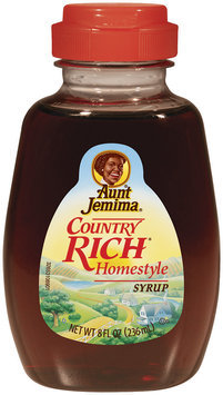 Aunt Jemima® Country Rich® Homestyle Syrup 8 fl. oz. Bottle