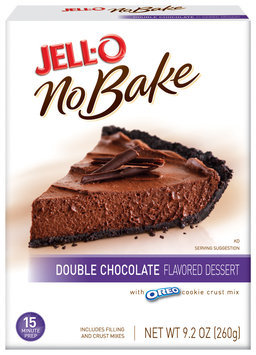 JELL-O No Bake Double Chocolate Dessert Mix