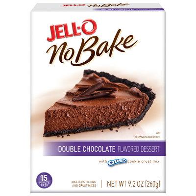 Jell-O Double Chocolate No Bake Dessert Mix 9.2 Oz Box