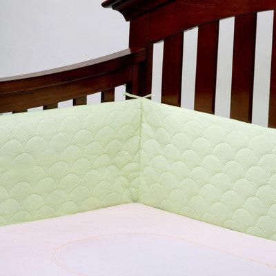 Ubimed Lifenest Breathable Padded Mesh Crib Bumper - Green