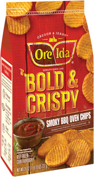 Ore-Ida® Bold & Crispy Smoky BBQ Oven Chips 26 oz. Bag