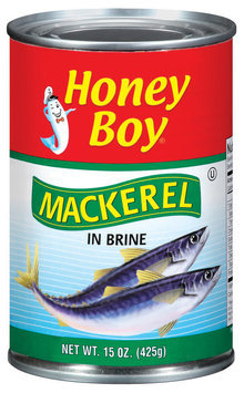 Honey Boy In Brine Mackerel 15 Oz Can
