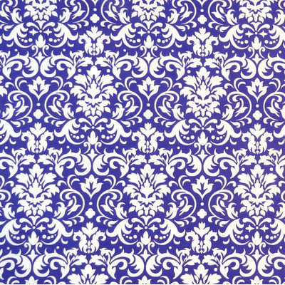 Stwd Damask Mini Fitted Sheet Color: Purple