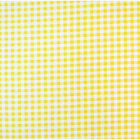 Stwd 3 Piece Gingham Check Sheet Crib Bedding Set Color: Yellow