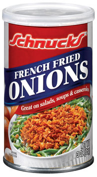Schnucks French Fried Onions 3 Oz Can