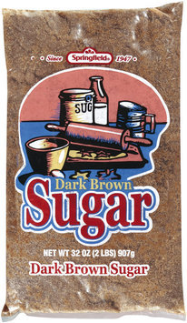 SPRINGFIELD Dark Brown Sugar 32 OZ BAG