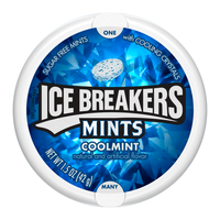 ICE BREAKERS SUGAR FREE MINTS COOLMINT