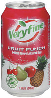 Veryfine Fruit Punch Juice Drink Blend